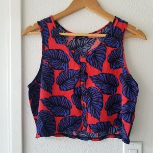 topshop • crop top • D004